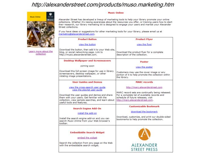 http://alexanderstreet.com/products/muso.marketing.htm