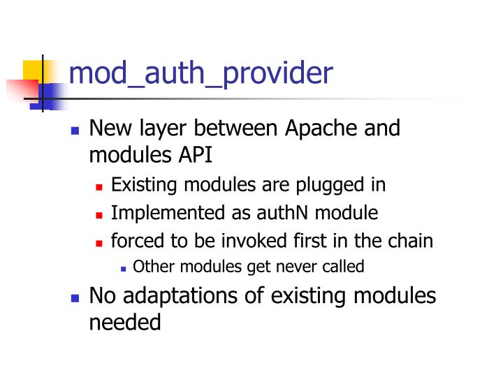 mod_auth_provider