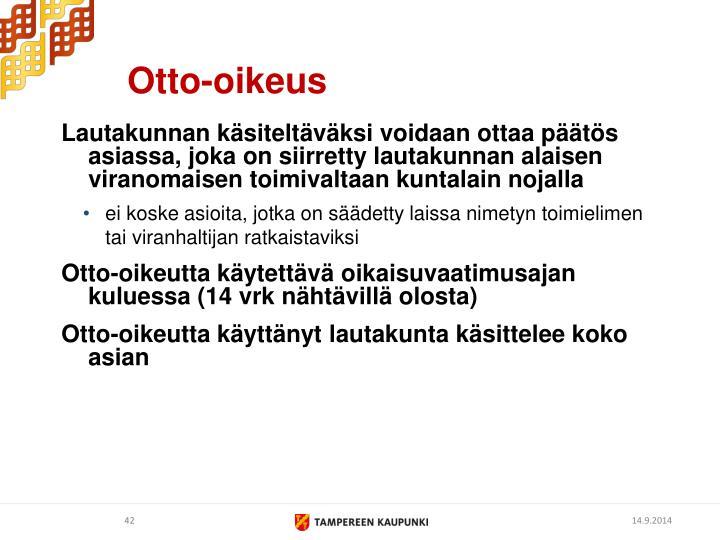 Otto-oikeus