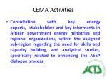 cema activities