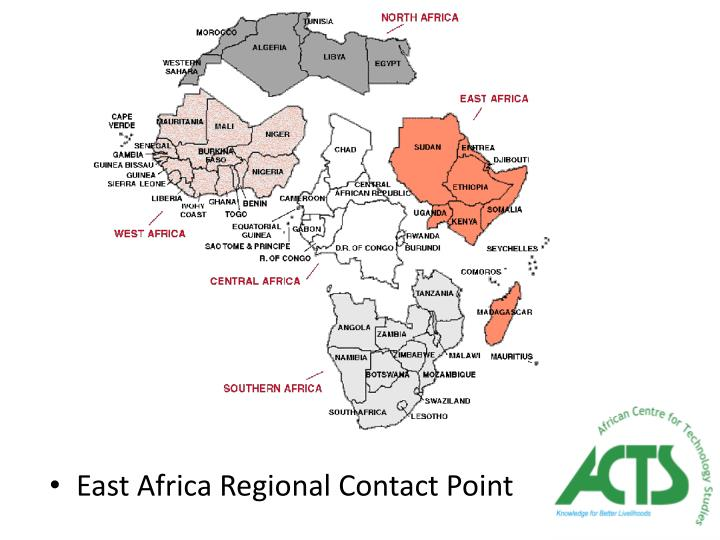 East Africa Regional Contact Point