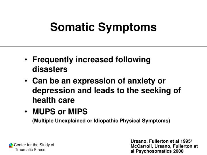 Somatic Symptoms