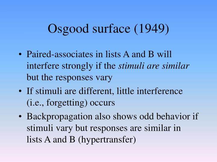 Osgood surface (1949)
