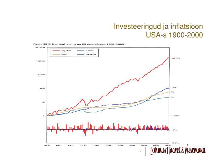 Investeeringud ja inflatsioon