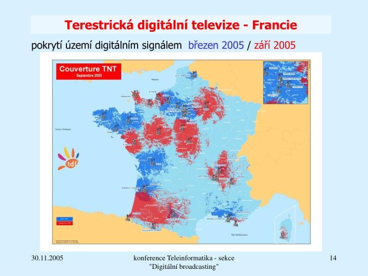 Terestrická digitální televize - Francie