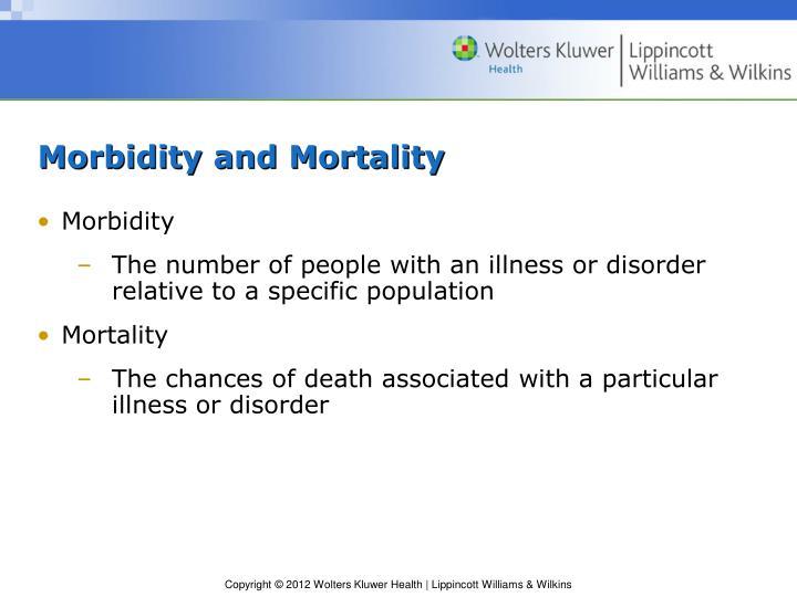 Morbidity and Mortality