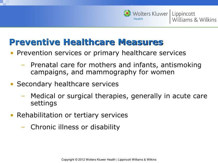 Preventive Healthcare Measures