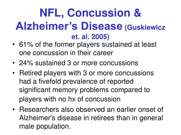 NFL, Concussion &