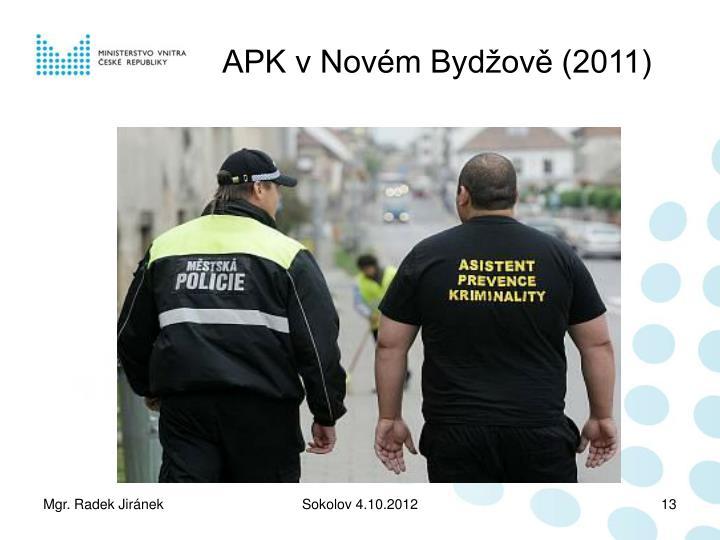 APK v Novém Bydžově (2011)