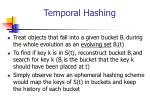 temporal hashing1
