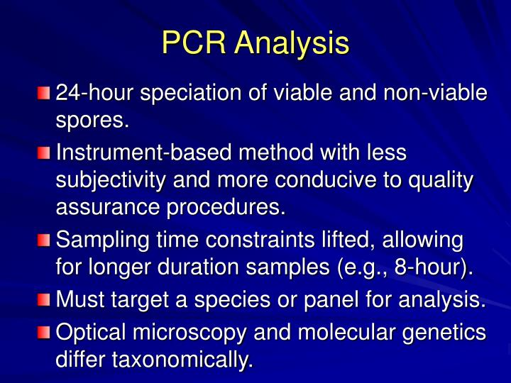 PCR Analysis