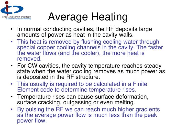 Average Heating