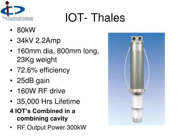 IOT- Thales