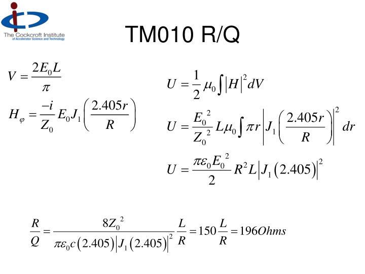 TM010 R/Q