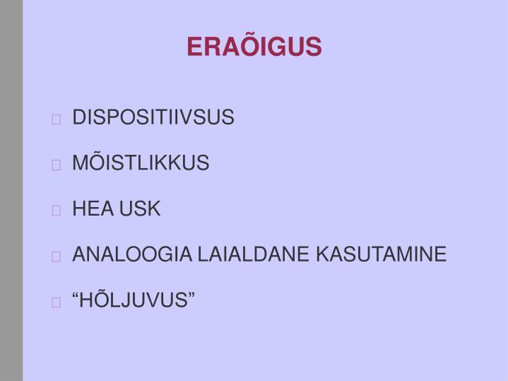 ERAÕIGUS