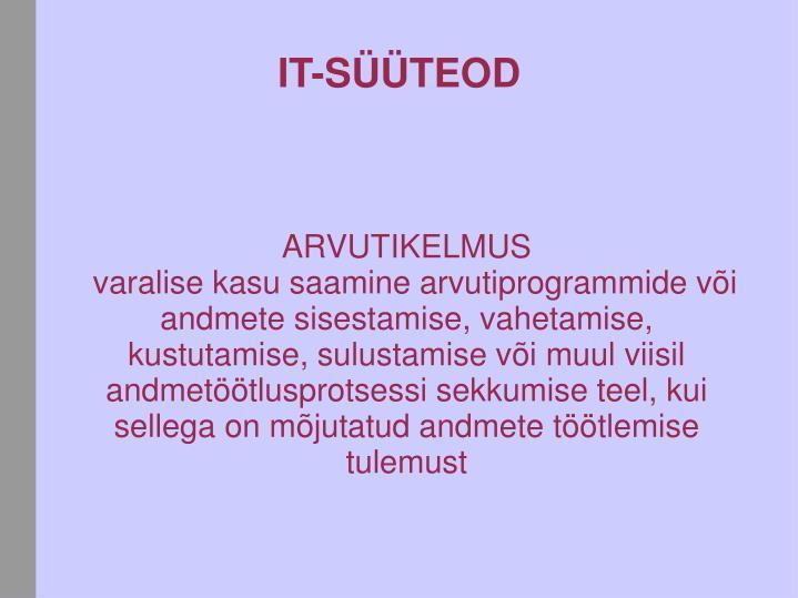 ARVUTIKELMUS
