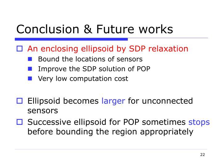 Conclusion & Future works