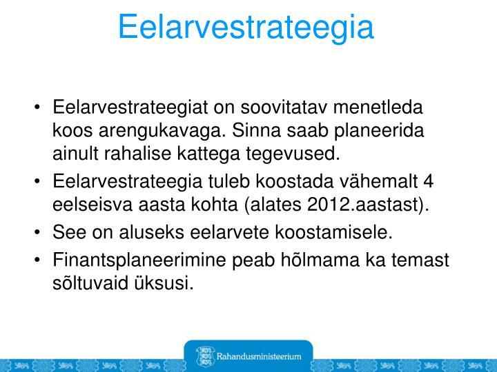 Eelarvestrateegia