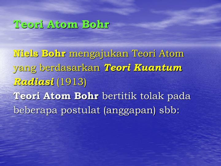 Teori Atom