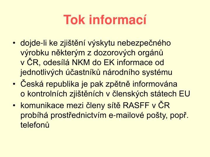 Tok informací