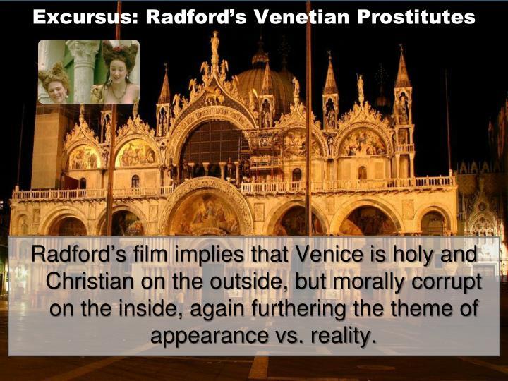 Excursus: Radford's Venetian Prostitutes