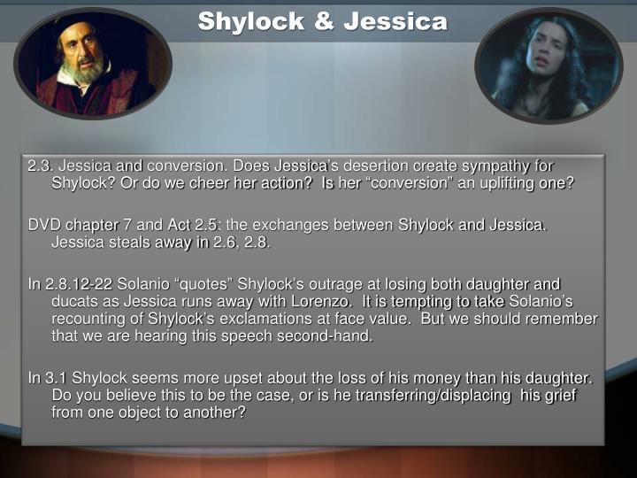 Shylock & Jessica