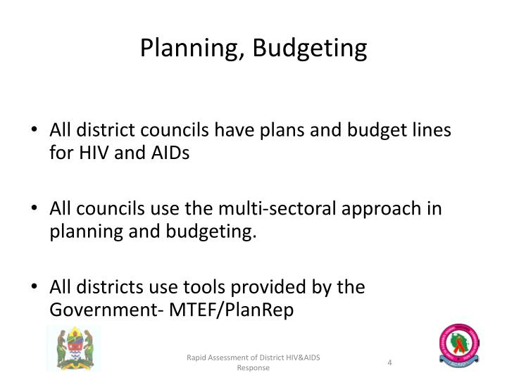 Planning, Budgeting