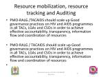 resource mobilization resource tracking and auditing1