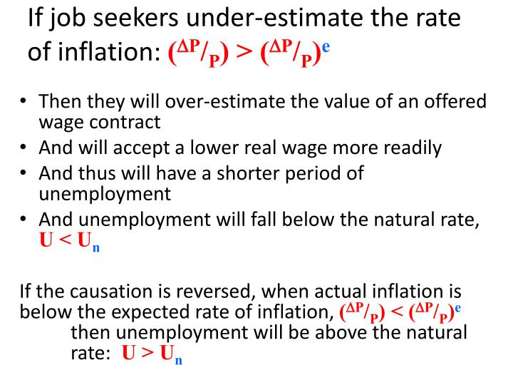 If job seekers under-estimate the rate of