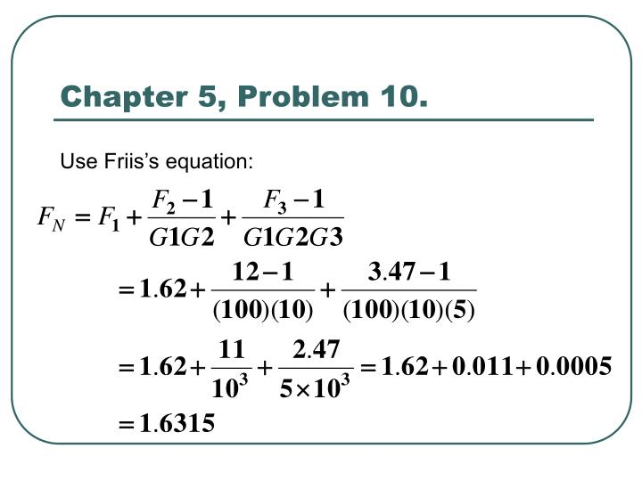 Chapter 5, Problem 10.