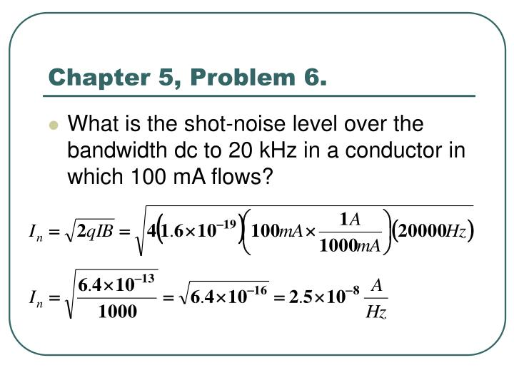 Chapter 5, Problem 6.
