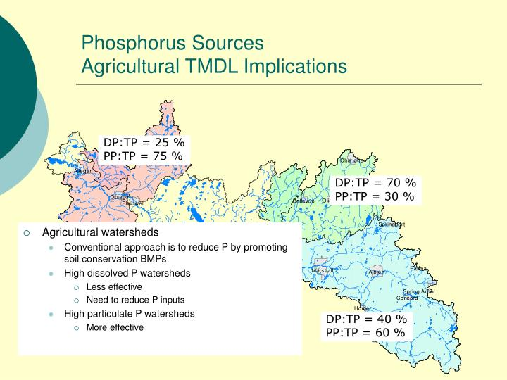 Phosphorus Sources