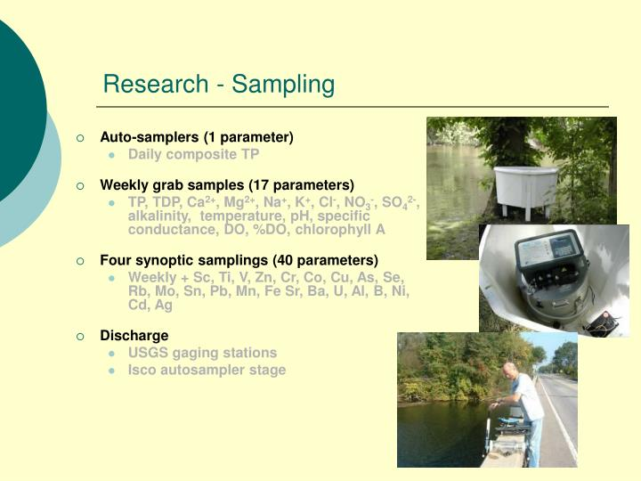 Research - Sampling