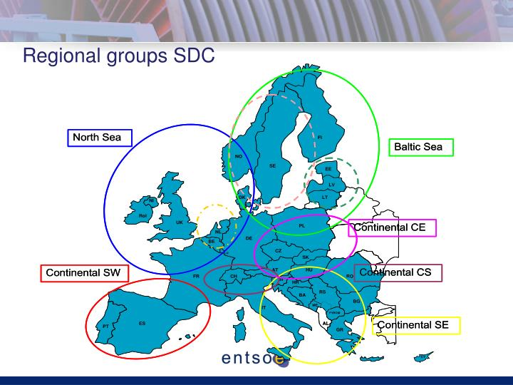 Regional groups SDC