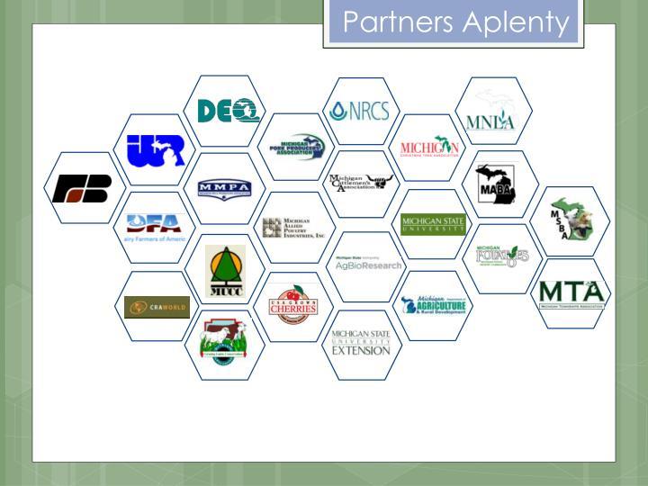 Partners Aplenty