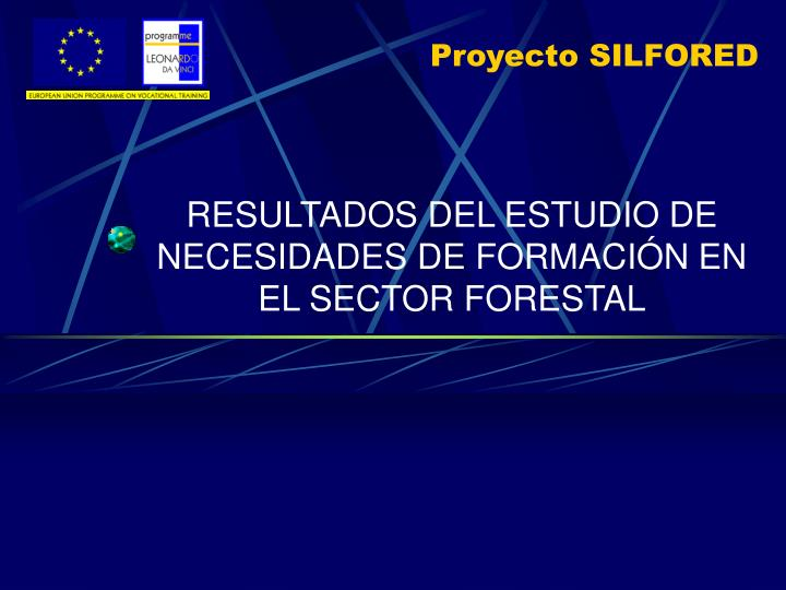 Proyecto silfored1