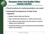 european union fuel quality policy lessons learned1