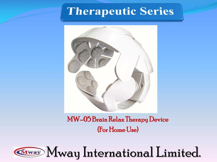 MW–05 Brain Relax Therapy Device
