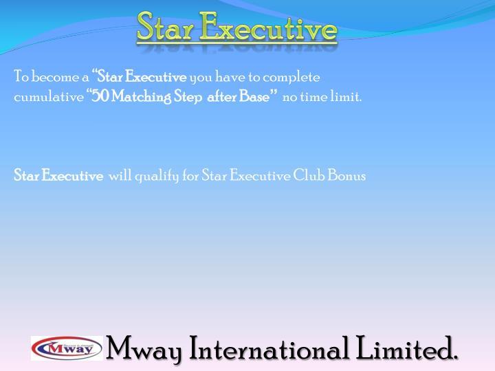 Star Executive