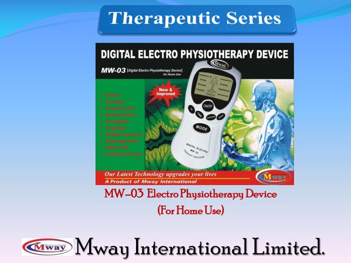 MW–03  Electro Physiotherapy Device