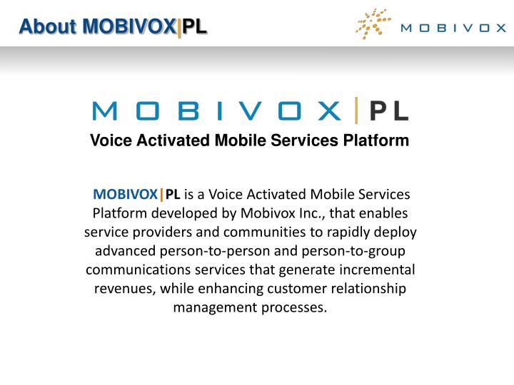 About MOBIVOX