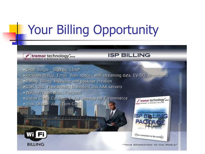 Your Billing Opportunity