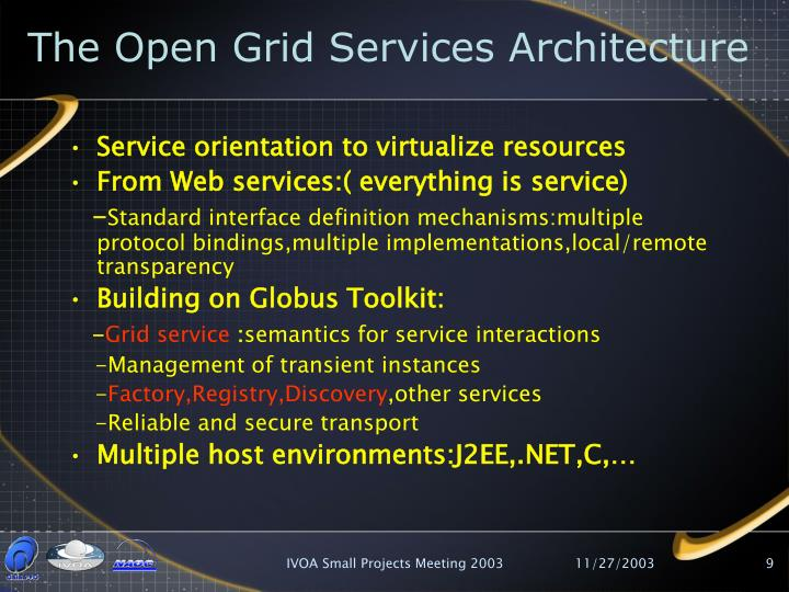 The Open Grid Services Architecture