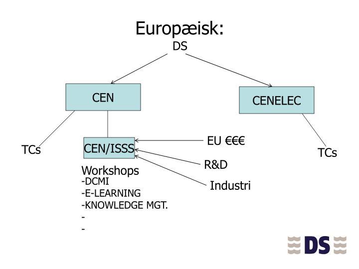 Europæisk: