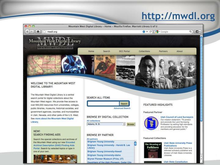 http://mwdl.org