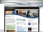 http mwdl org