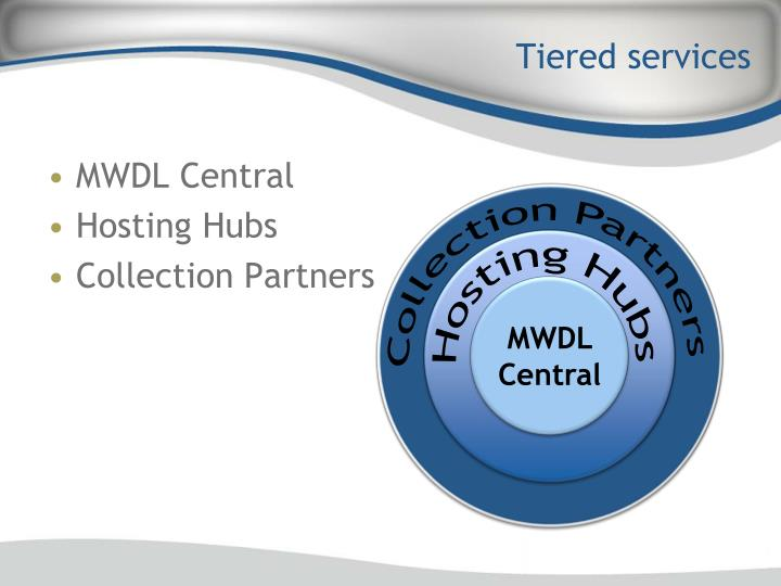 Tiered services