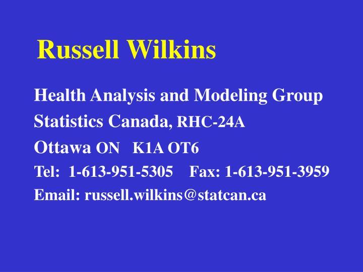 Russell Wilkins