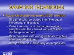 sampling techniques10