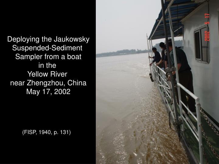 Deploying the Jaukowsky